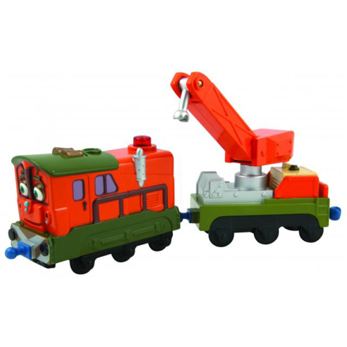 Chuggington Intereactive Railway Calley and Rescue Car
