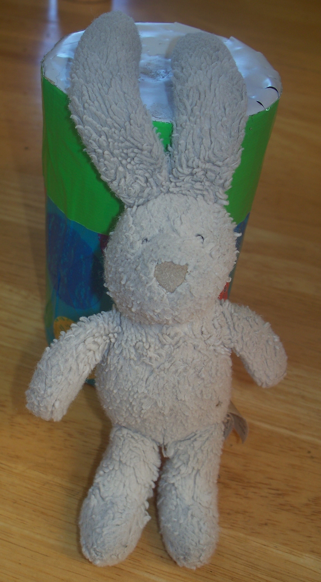 Jellycat 8&#8221; bunny from ears to feet.&nbsp; White