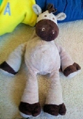 2009 Koala Baby tan & brown giraffe with star on foot - We need a replacement for