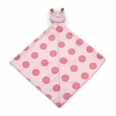 Carters Ladybug Lovey / security blanket - carters lady bug lovey pink with polka dots on blanket