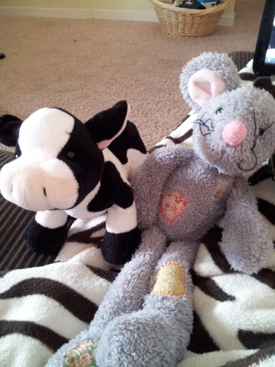 Mouse And Cow