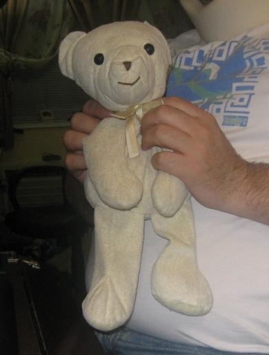 Soft Pale Yellow Teddy Bear