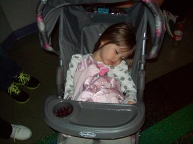 Child Of Mine Pink Fleece With Satin Trim