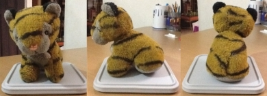 Tiger Cub Stuffed Toy