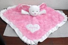 Pink Xoxo Bunny Security Blanket
