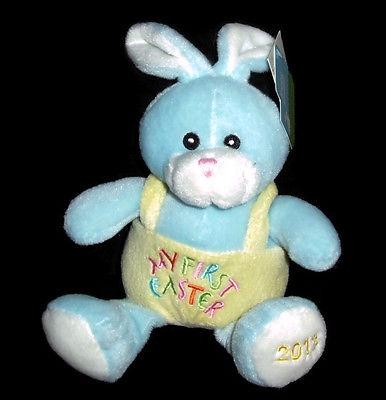 2013 Dandee Blue Easter Bunny