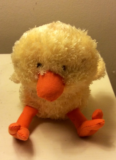 Animal Adventure Plush Chick Yellow 4 Inches Tall From