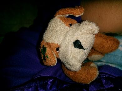 Tan Beanie Doggy By Russ