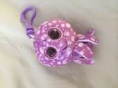 ty beanie babies. Octopus purple key clip