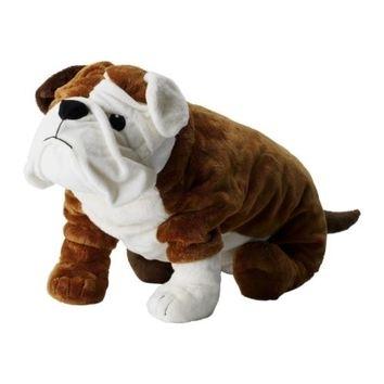 Ikea 21 Gosig English Bulldog Stuffed Puppy