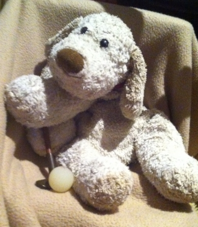 Lost Babies R Us Sammy Puppydishevelled Brown Jellycat