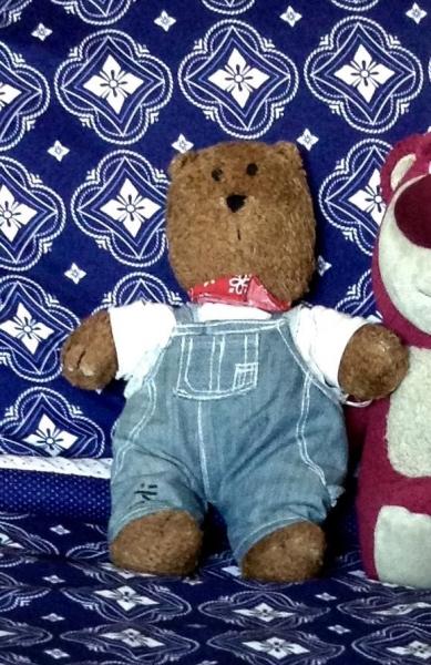 Lost Babies R Us Sammy Puppydishevelled Brown Jellycat