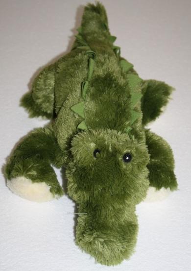 Fuzzy green alligator