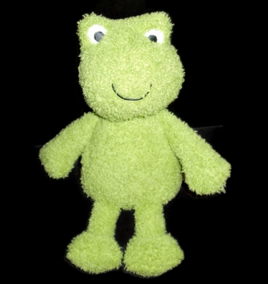 "10"" Carters frog plush Style # 61276"
