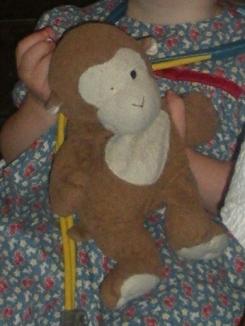 Ty Monkey - missing eye