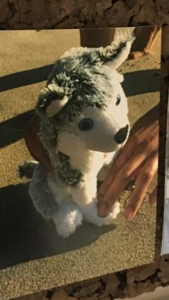 10inch Husky Stuffed Animal