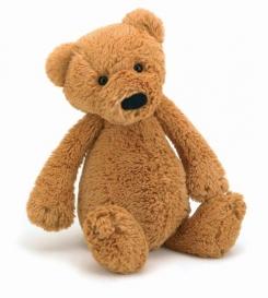 Honey-brown Medium Bashful Bear (Jellycat 2008 model)