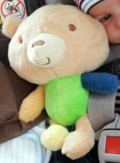 plush valentines bear 2014