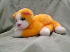 lisa frank plush orange cat