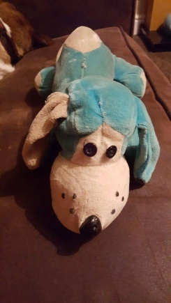 Blue or Pink doggy 1980/1990