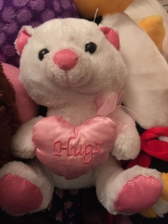 Hugs Valentine Bear