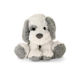 Toys R Us Plush 16 inch Cuddle Dog - Grey and white