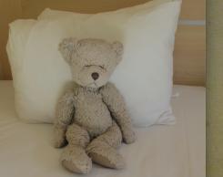 Beige Teddy Bear with big feet