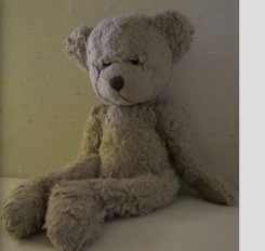 "Teddy Bear Name ""Russ Teddy Bear Tennyson"""