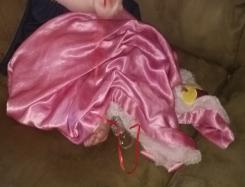 Disney Baby Pink Winnie the Pooh Blanket