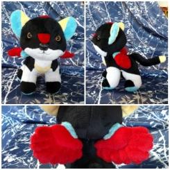 Voltron-themed Black Lion Cub