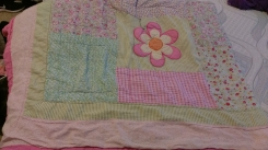 Pink flower pattern Blanket