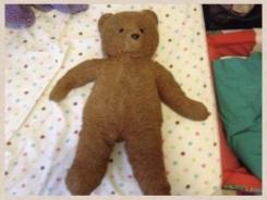 "Reddish brown bear 18-24"""
