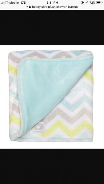 boppy chevron blanket
