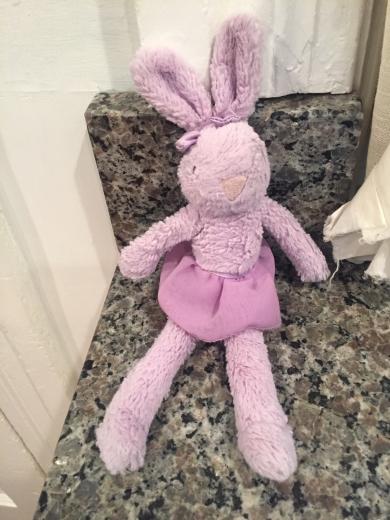 Lilac tutu Jellycat Bunny