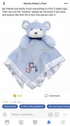 Fao Schwartz security bear with abc blocks
