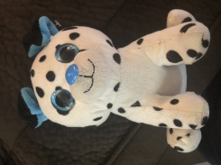 Target dollar spot Dalmatian with blue eyes, ears and nose