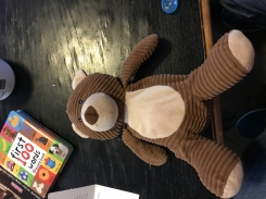 Corduroy bear from Target