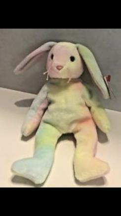 "Beanie baby bunnie ""Hippy"""
