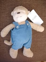 M&S monkey with dungarees
