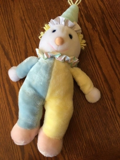 Blue yellow pastel eden clown -notwindup!-
