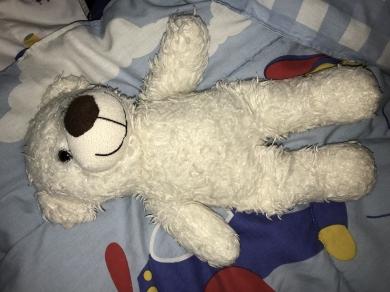 Baby Gund white Bear