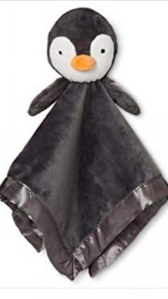 Grey Penguin lovey
