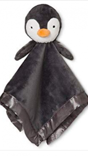 Grey Penguin lovey