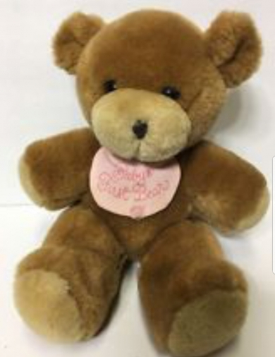 1989 Hallmark Brown Teddy Bear
