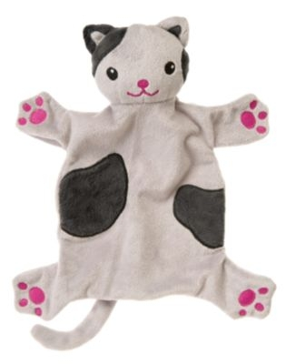 Flat Gray Kitty - Gymboree Kitty at play line
