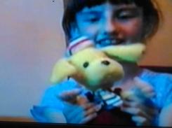 Yellow Plush Dog.