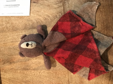 Limited Ed Target Christmas Red Plaid Lovey