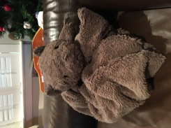 Brown Bear Security Blanket