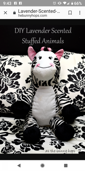 Funhouse cuddle pillow zebra