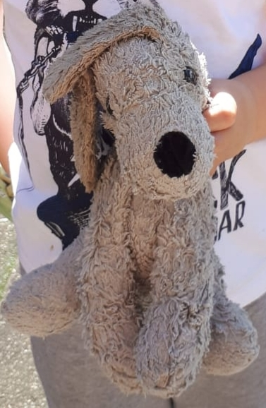 Stuffed cuddly toy gof